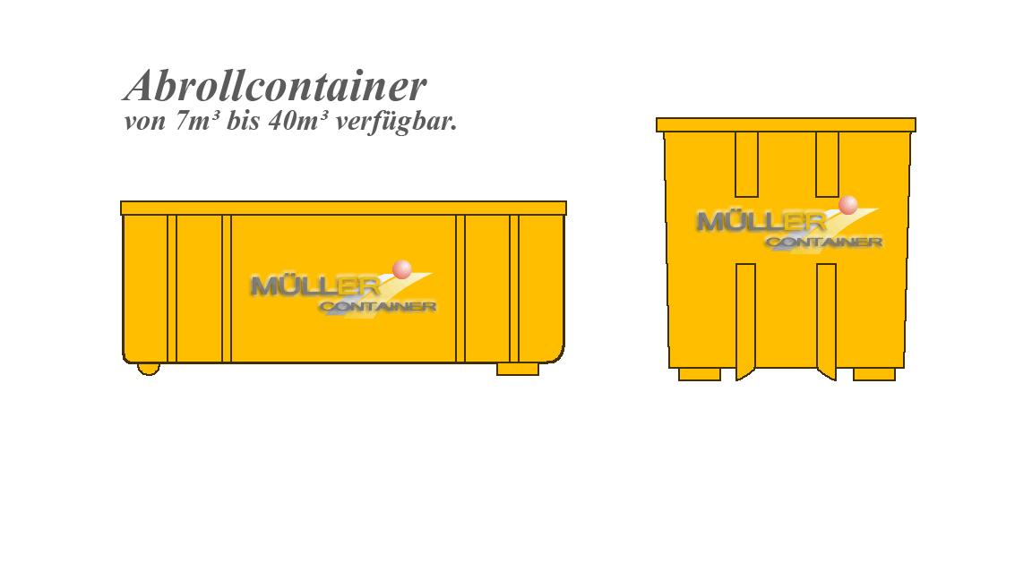 Müllercontainer Containerdienst Slider